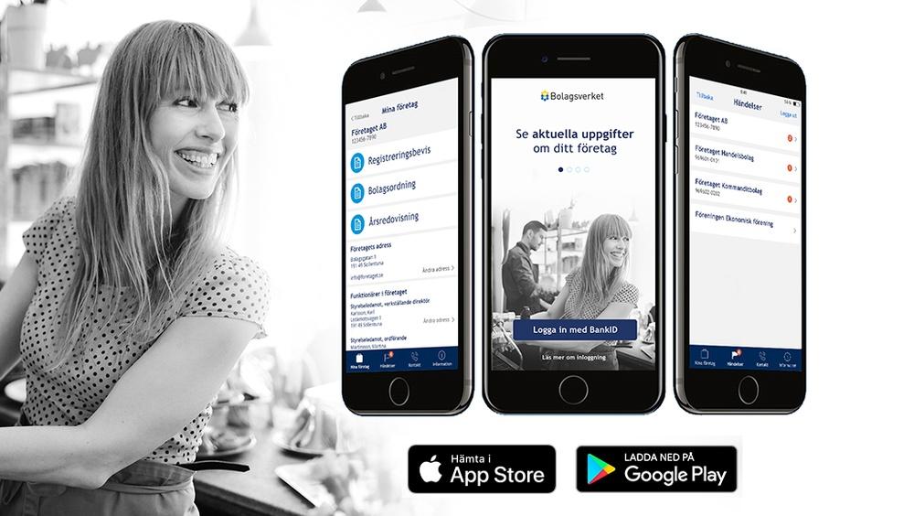 Bolagsverkets app