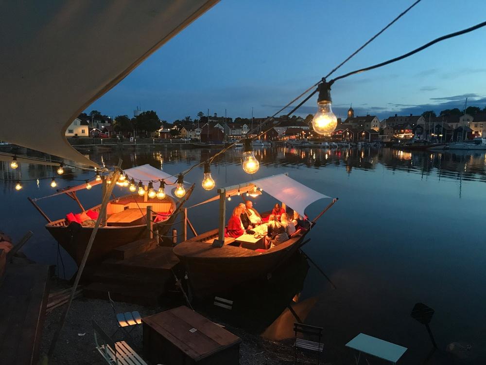 Restaurang Strandnära i Öregrund