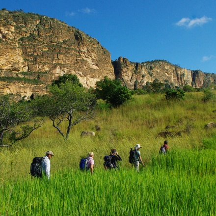 Trekking in Madagascar