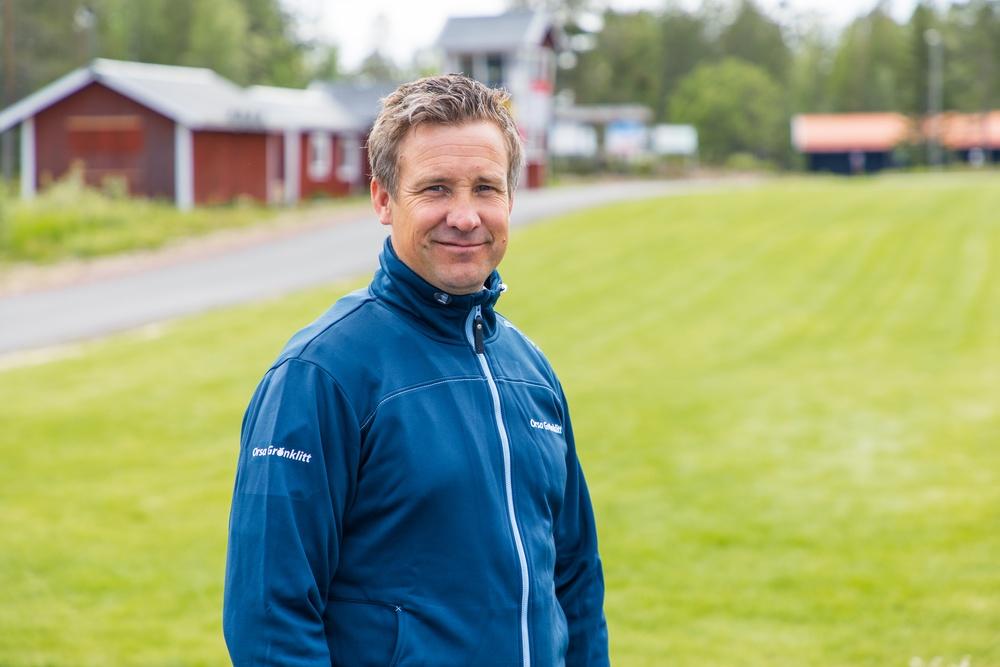 Urban Nilsson, ny sportchef i Orsa Grönklitt.