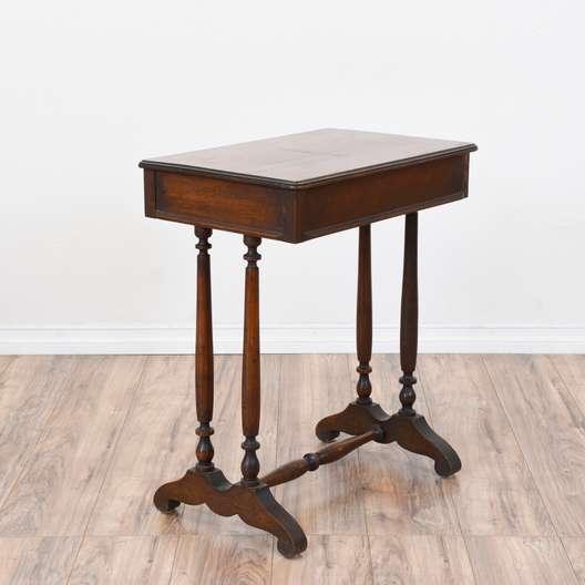 Small Vintage Walnut Desk