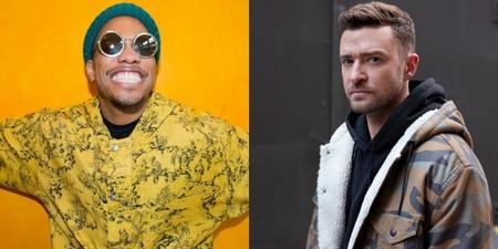 Justin Timberlake and Anderson .Paak hint at new collaboration