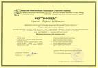 Московский Гештальт Институт, Гештальт-терапевт, 2008-2011 годы