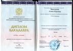 Московский институт психоанализа, Бакалавр психологии, 2011-2015 годы