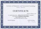 Институт гуманистической и экзистенциальной психологии, Введение в Дазайн-анализ, 2019 годы