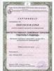 Московский гештальт институт, семейный гештальт-терапевт, 2012 - 2013 годы