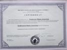 Институт Психодрамы и Ролевого тренинга, Психодраматерапевт, групповой терапевт, социометрист, 2007-2011 годы