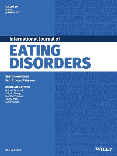 """""""The Validity of DSM-5 Severity Specifiers for Anorexia Nervosa, Bulimia Nervosa, and Binge-Eating Disorder"""""""