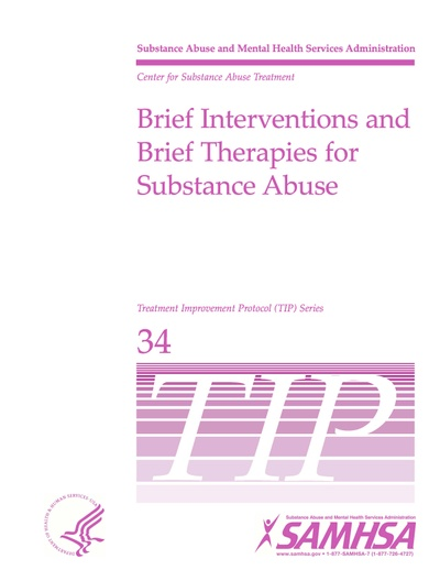 """Brief Interventions and Brief Therapies For Substance Abuse-TIP 34-Time Limited Group Therapy"""