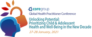 CORE Group Global Health Practitioner Conference 2021 Unlocking Potential: Prioritizing Child and Adolescent Health and Well-Being in the New Decade  Logo