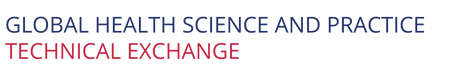 Global Health Science and Practice Technical Exchange  Logo