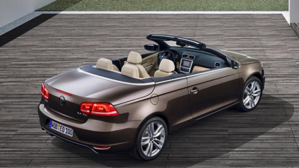 Drop-top Golf won't hurt Eos: VW