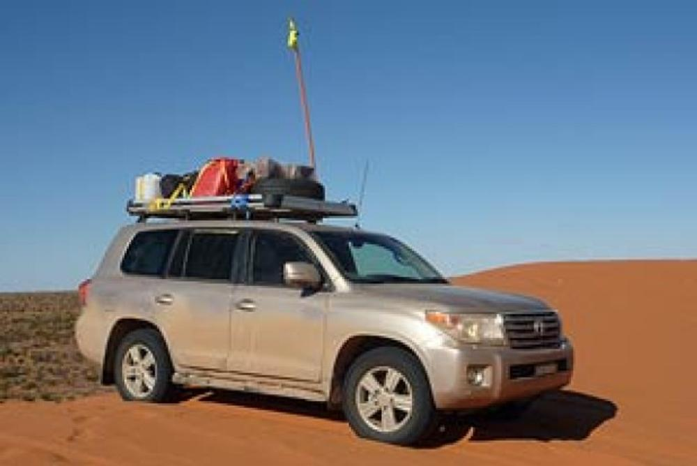Toyota LandCruiser Sahara Diesel: Outback road test