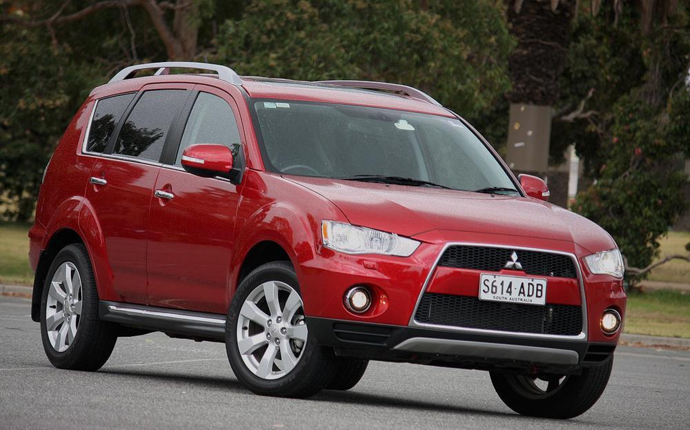 2010 Mitsubishi Outlander VRX Review