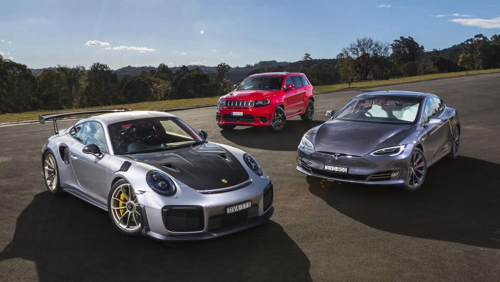 Crazy cars: Driving the exclusive 500kW club with Porsche