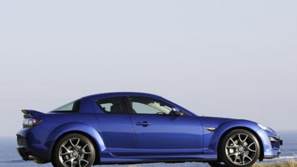 New Mazda RX-8: slower but faster?