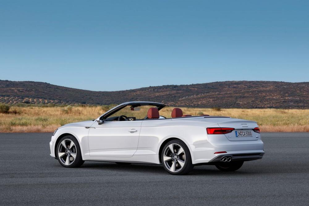 2017 Audi A5 Cabriolet Revealed New Audi Drop Top Breaks Cover