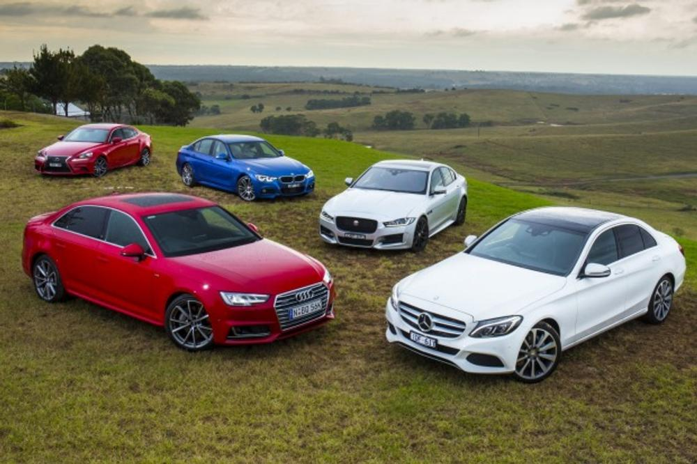 Audi A4 V Bmw 3 Series V Jaguar Xe V Lexus Is V Mercedes Benz C Class