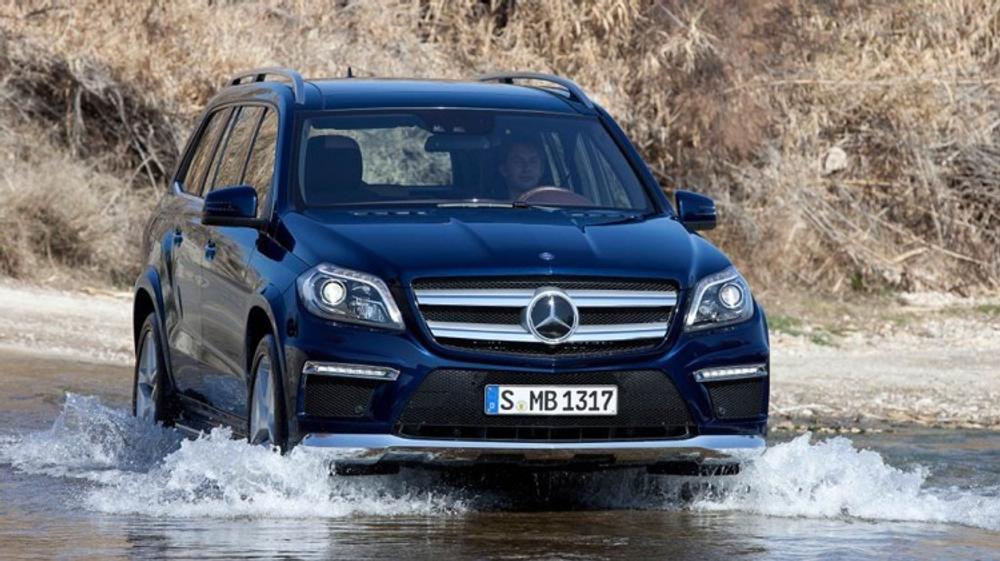 First Drive Review Mercedes Benz Gl