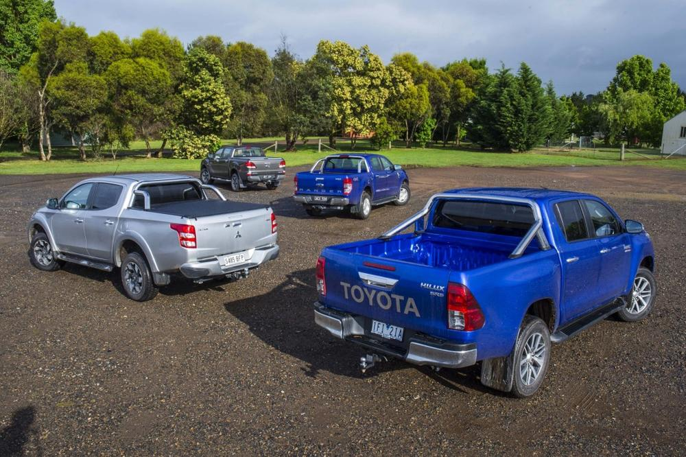 Ute comparison review: Toyota Hilux v Ford Ranger v Mazda BT