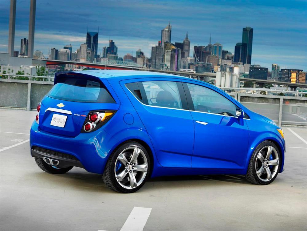 2011 Holden Barina Revealed Australian Debut Likely
