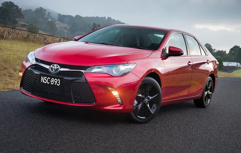 2015 Toyota Camry For Australia: $5000 Price Drop, New Looks