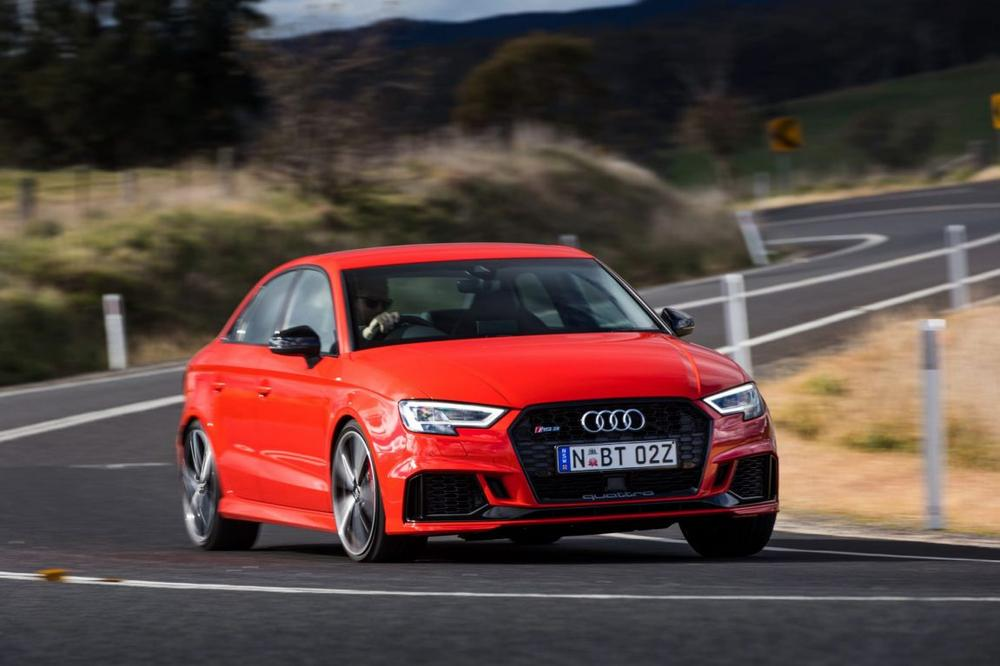 2017 Audi RS3 sedan first drive review - Driving Audi's