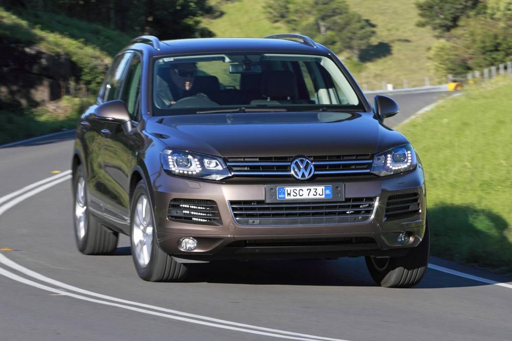 2012 Volkswagen Touareg 3 0 V6 150TDI Road Test Review