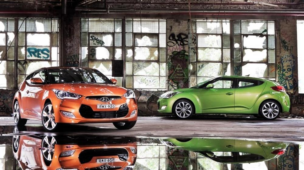 Hyundai Veloster: Open and shut case