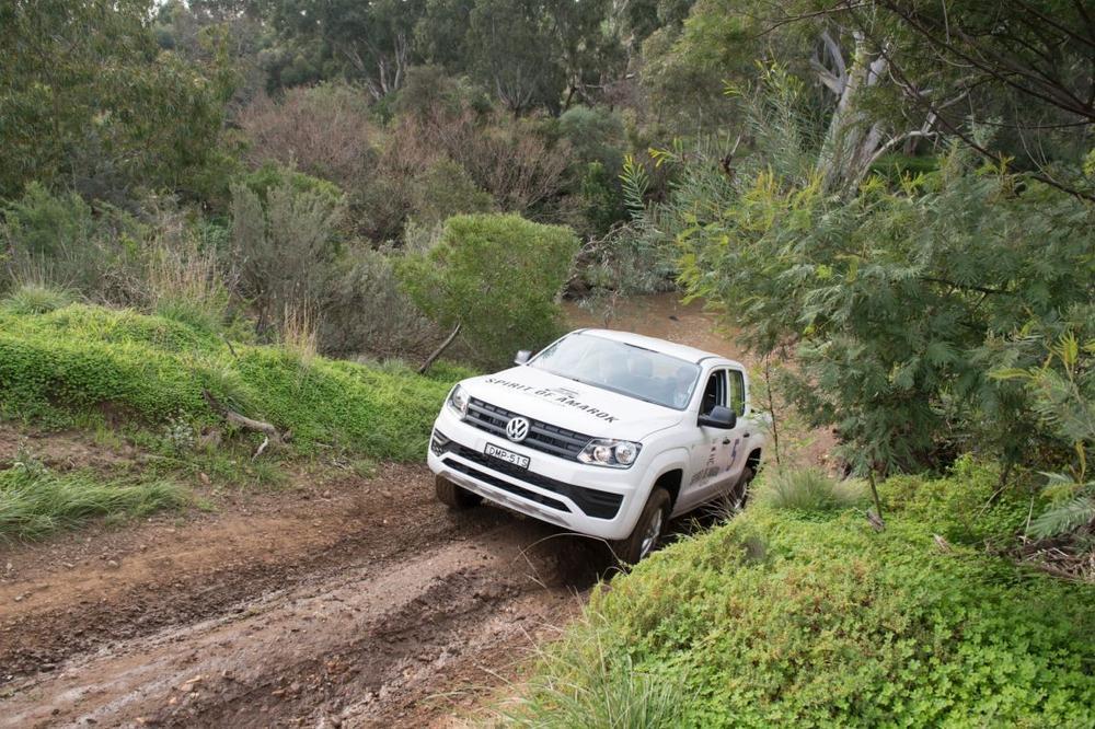 Volkswagen Spirit of Amarok off-road challenge - Volkswagen