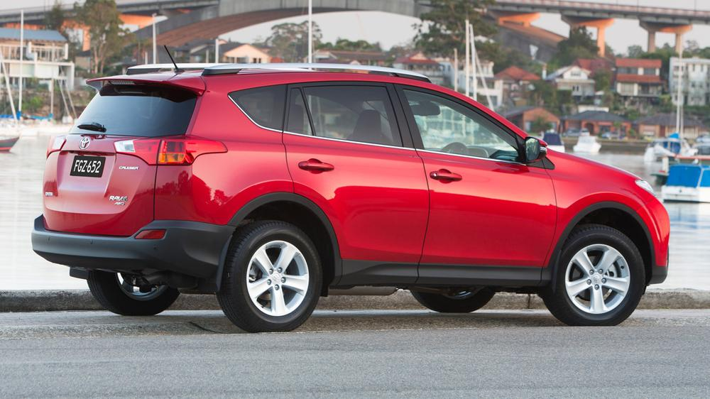 2014 Toyota RAV4: Australian Price And Features For Updated SUV