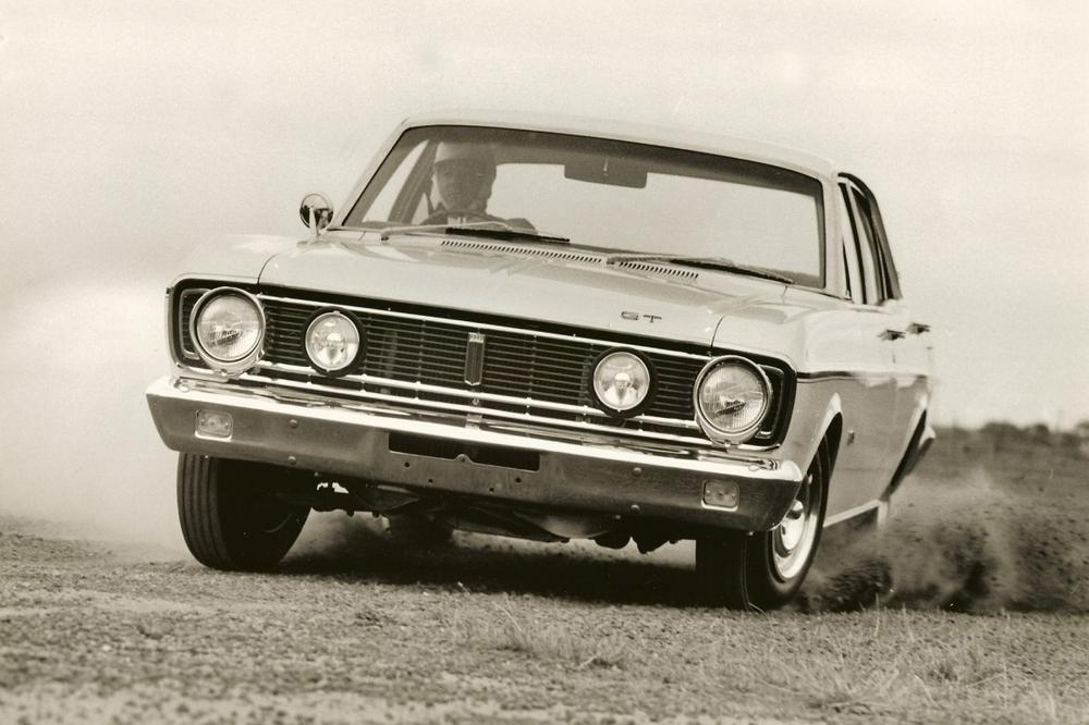 Ford Australia: The Falcon of the 1960s - The first decade