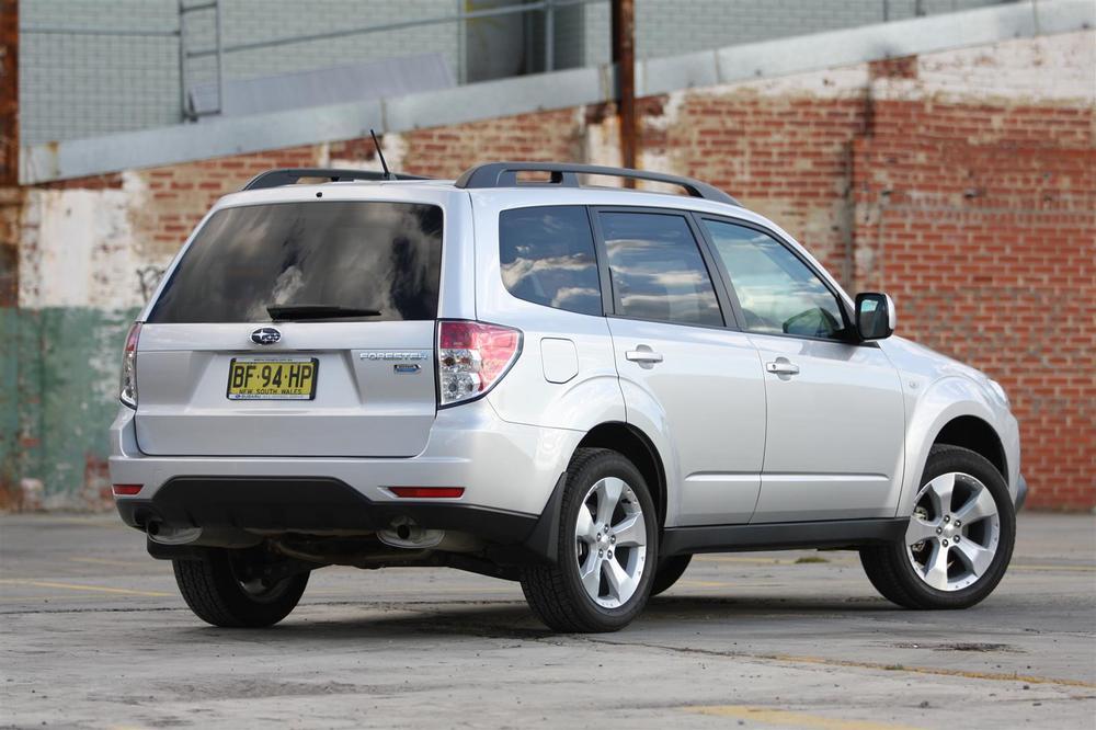 2010 Subaru Forester 2 0D Diesel Premium Road Test Review