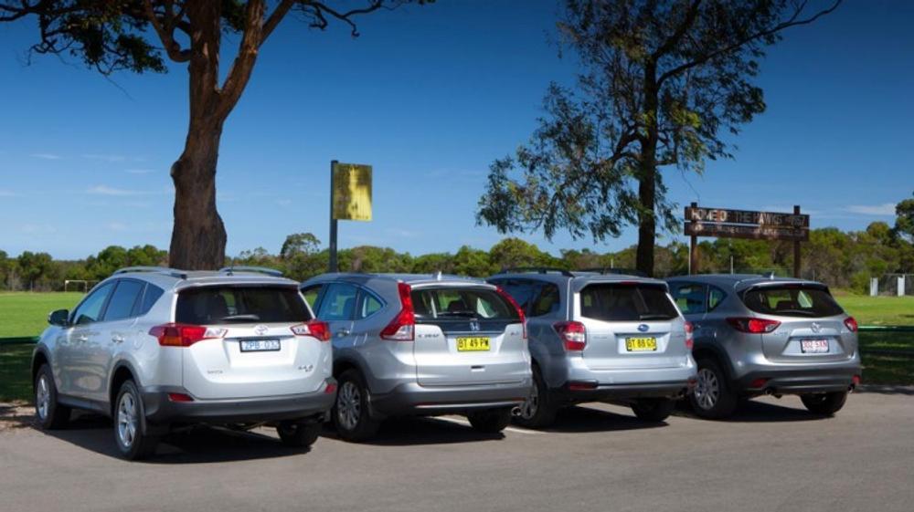SUV comparison: CX-5 v RAV4 v CR-V v Forester