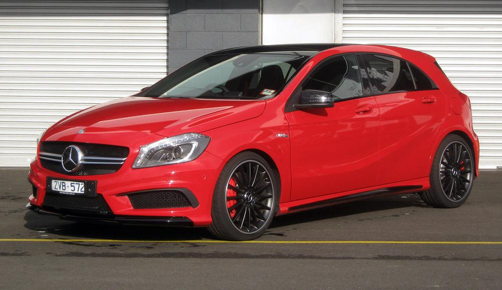 2013 Mercedes A45 AMG Review | Road And Track Test