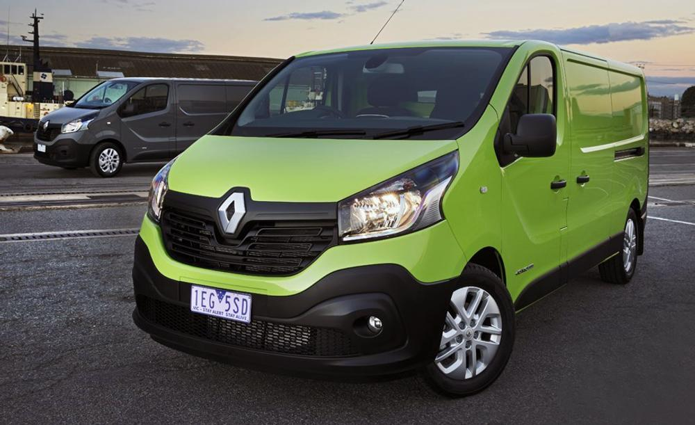 2015 Renault Trafic Review: dCi 140