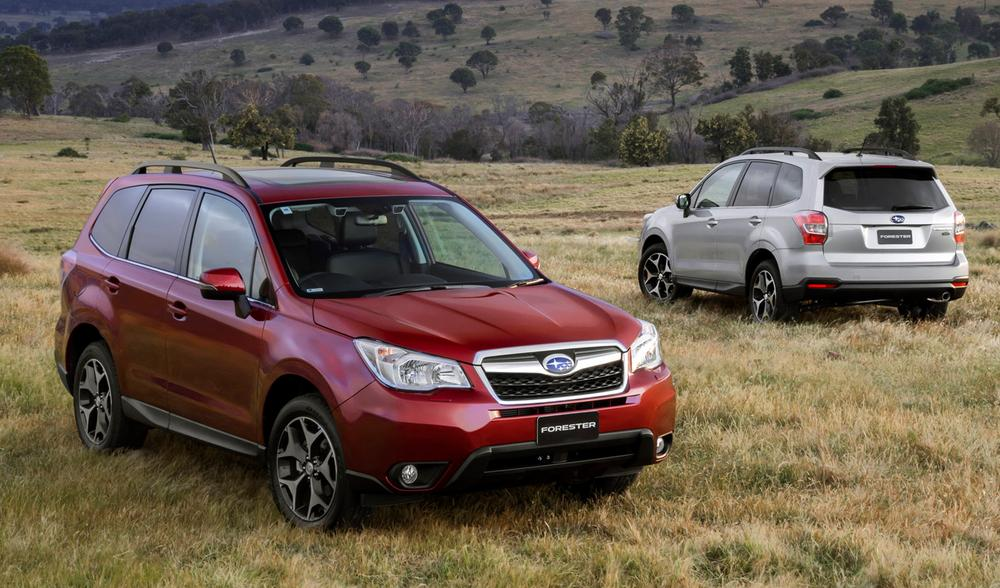 Subaru Forester Review | 2013 Forester Australian Preview Drive