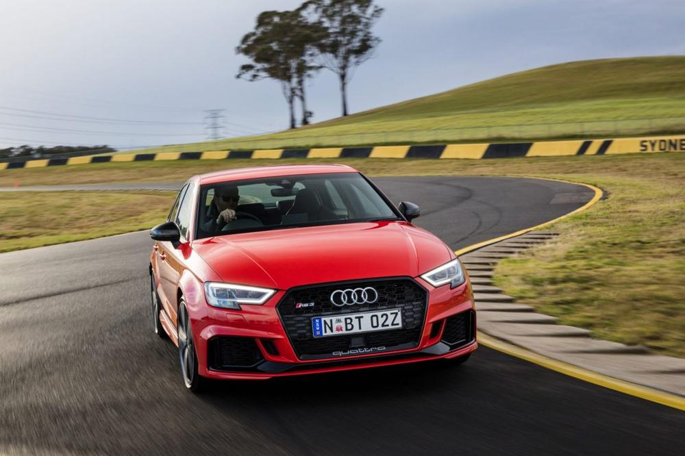 Audi Rs3 Sedan Arrives In Australia The Most Understated