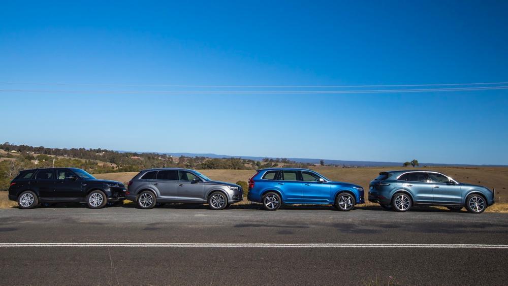 Luxury SUV comparison: Audi Q7 v Volvo XC90 v Porsche