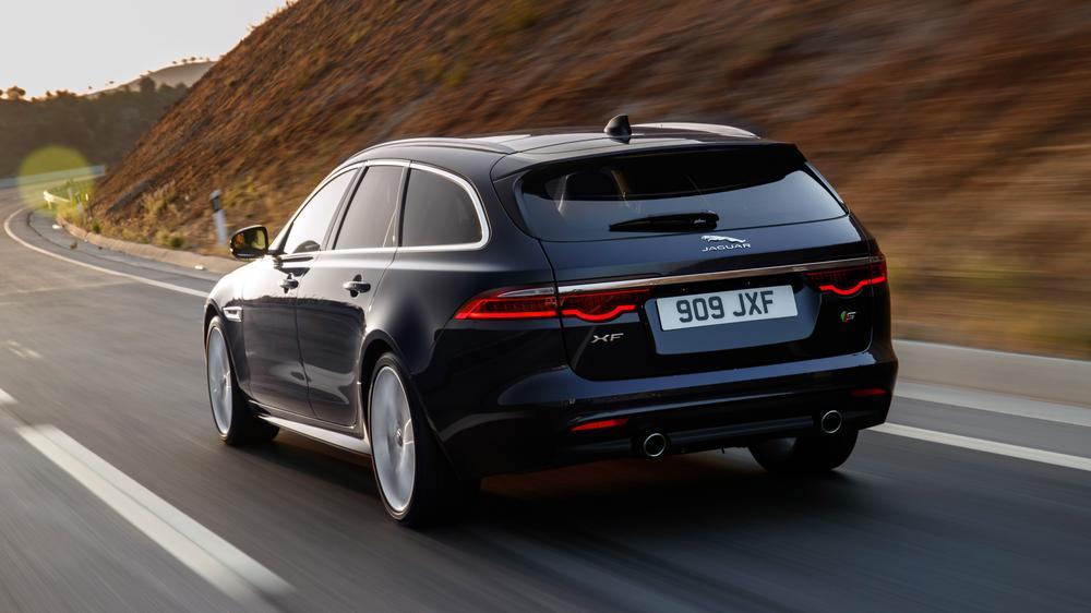 2018 Jaguar XF Sportbrake 30d First Edition new car review