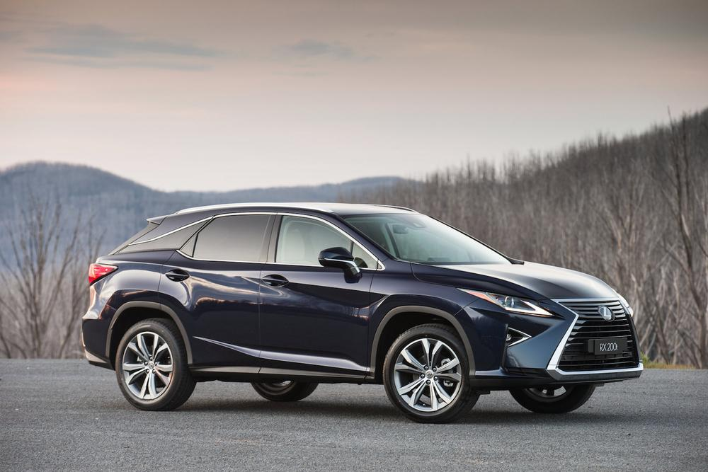 2016 Lexus RX200t, RX350, RX450h - Price And Features