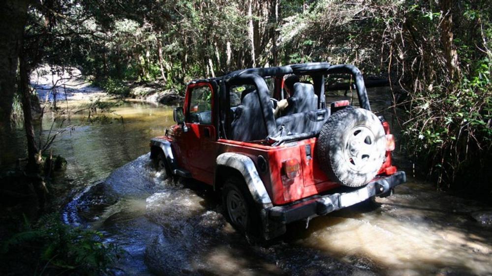 Jeep Wrangler 2001-07
