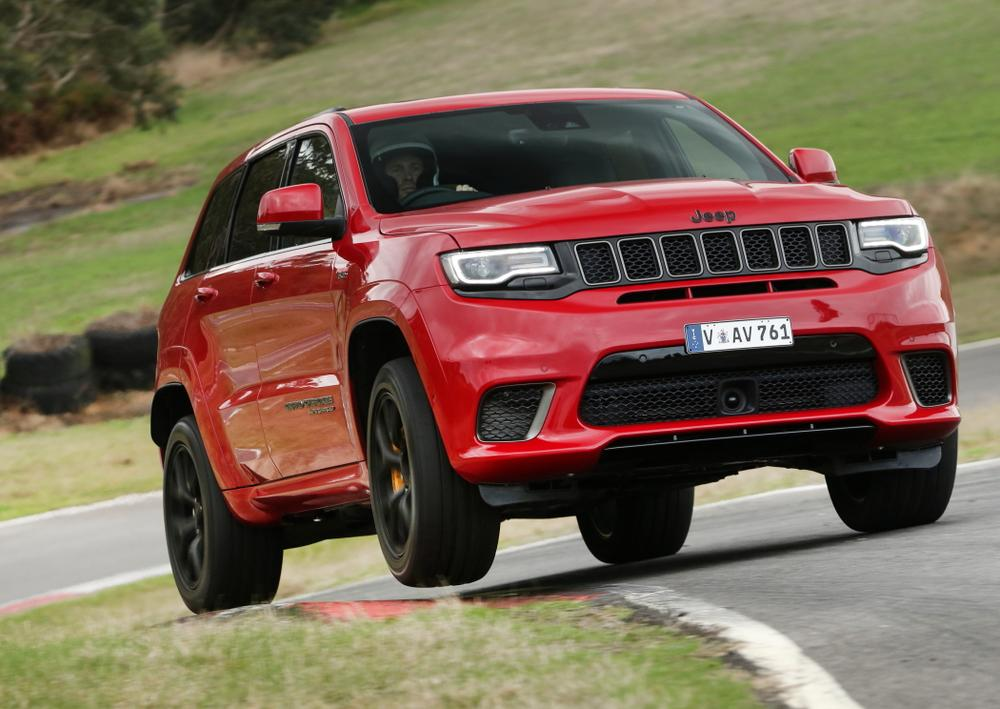 2018 Jeep Grand Cherokee Trackhawk review | Drive com au