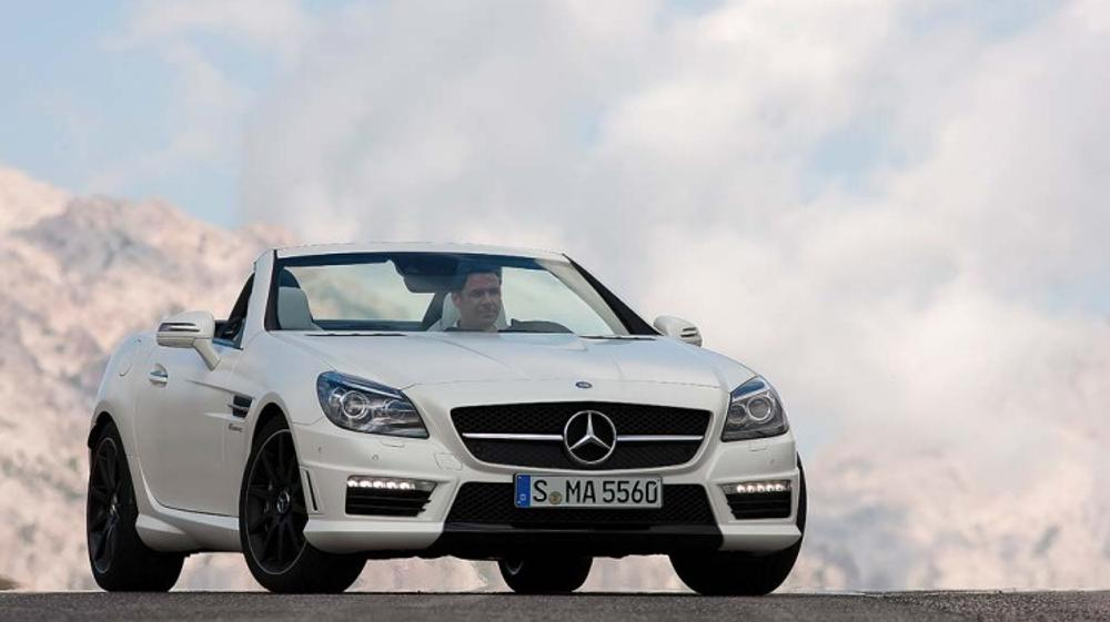 AMG hammer time for Mercedes SLK