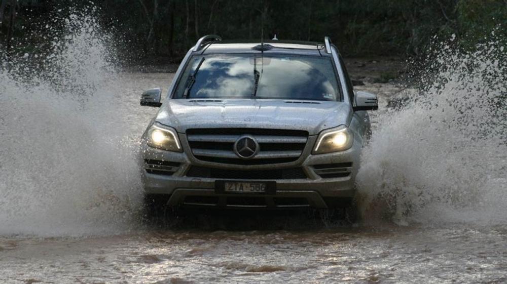 Mercedes-Benz GL350 Bluetec: Outback road test