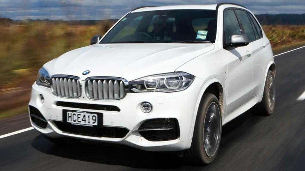 BMW X5 M50d new car review