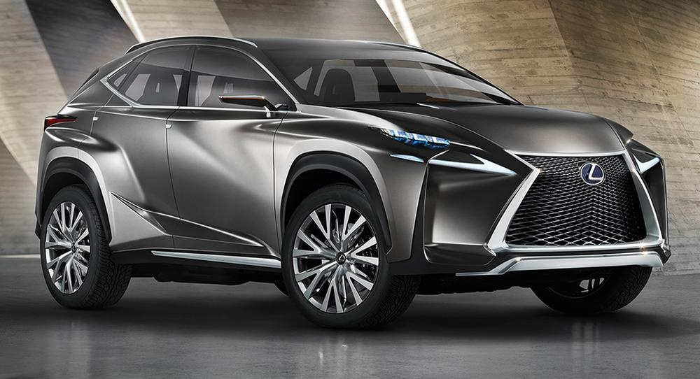 Lexus Lf Nx Concept Teases New Suv Styling