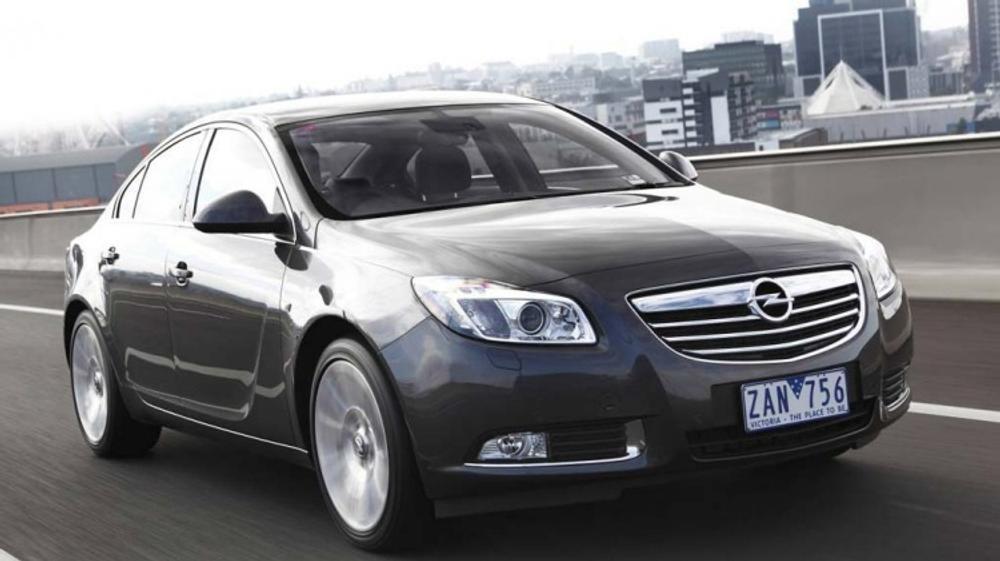 New car review: Opel Insignia 2.0T Select sedan