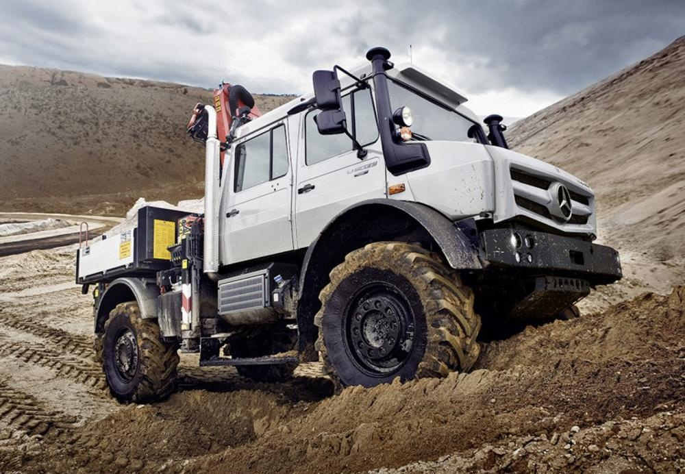Mercedes-Benz Unimog Refreshed For 2013