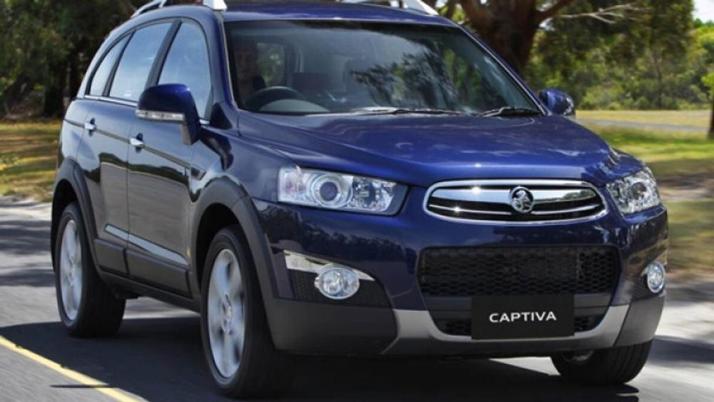 First Drive New Holden Captiva